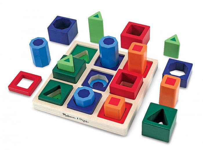 Set incastrare Forme de sortat pe tabla [0]