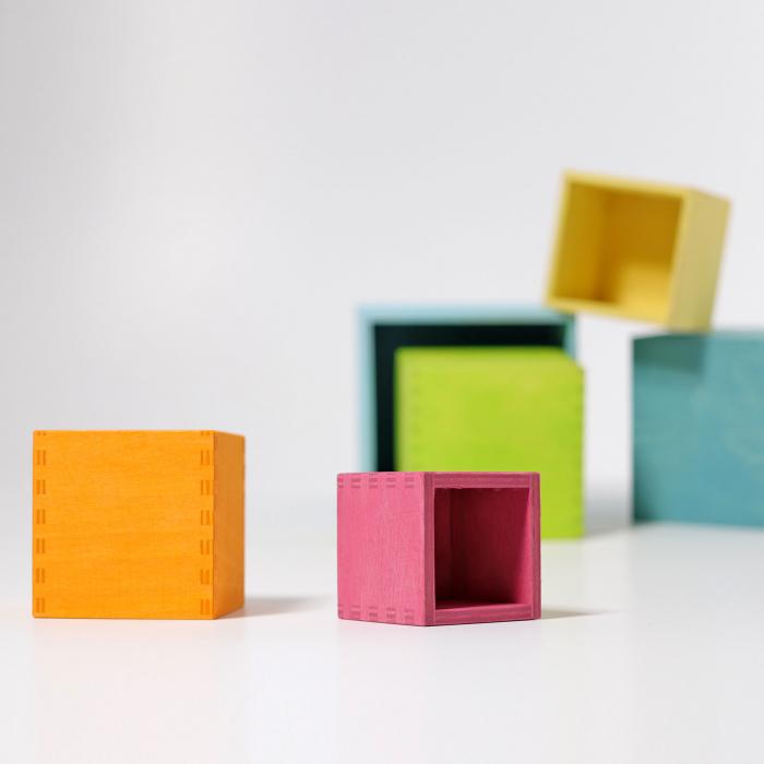 Set mare de cutii colorate pastel [7]