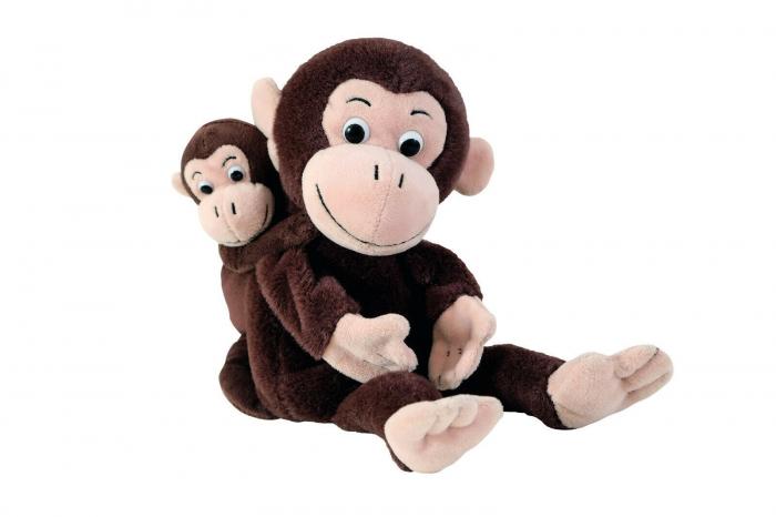 Set Papusi Maimuta Si Puiul Ei [0]
