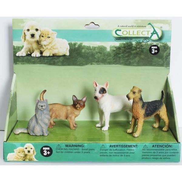 Set pisici si catei Animal figurina [0]