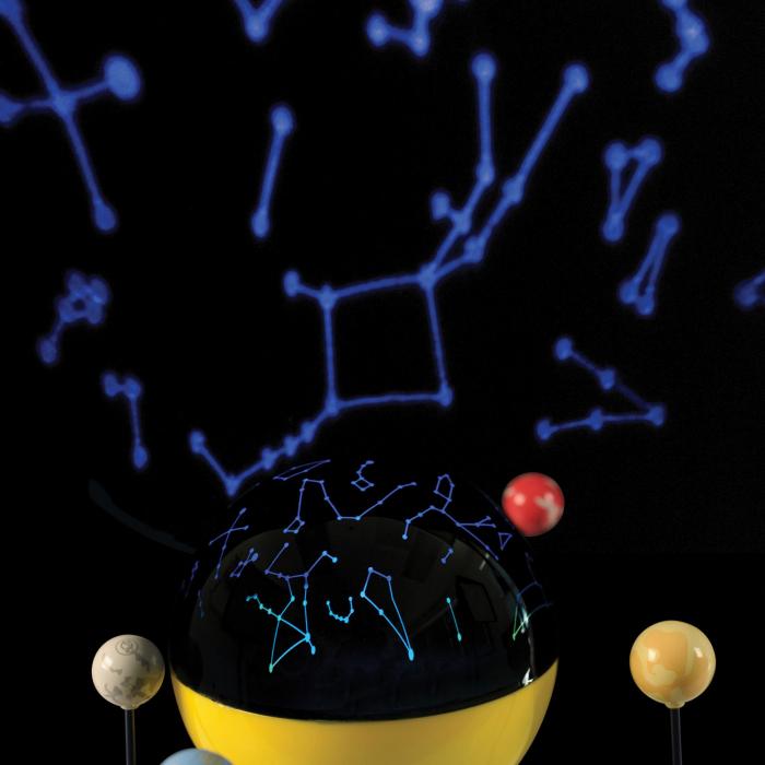 Sistem Solar Motorizat Geosafari - Micul astronom 6