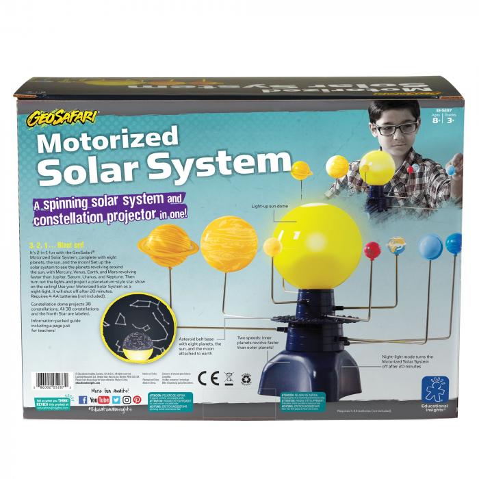 Sistem Solar Motorizat Geosafari - Micul astronom 1