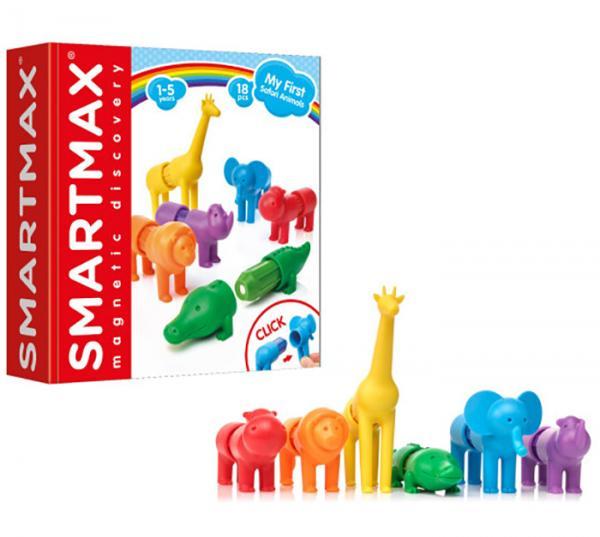 Smartmax My First Safari Animals - Set Magnetic 5