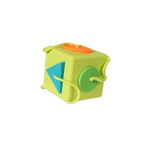 Sortator de forme pentru bebelusi OombeeCube Fat Brain Toys [1]