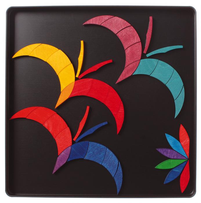 Spirala culorilor - puzzle magnetic 2