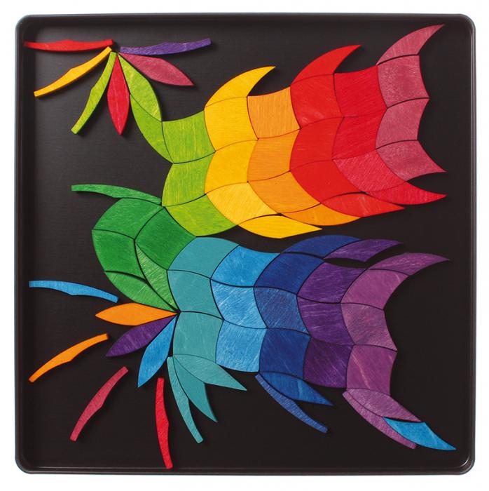 Spirala culorilor - puzzle magnetic 5