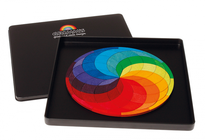 Spirala culorilor - puzzle magnetic 1