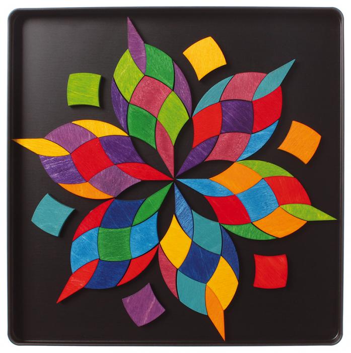 Spirala culorilor - puzzle magnetic 3