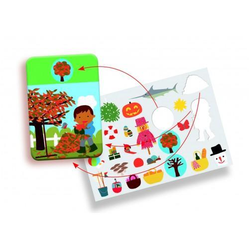 Edu-Stick - Stickere educative Culori 2