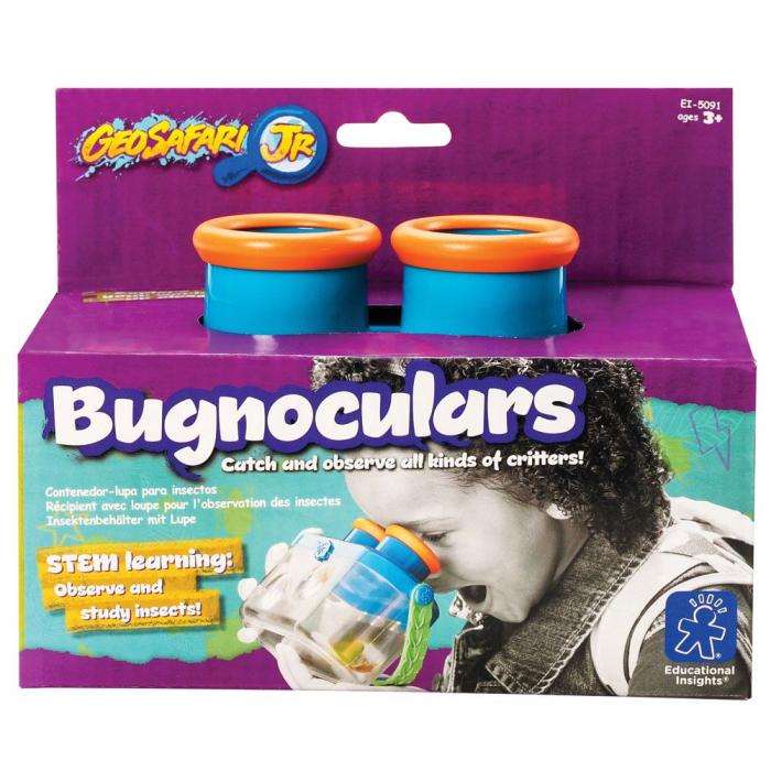 Studiaza insectele - Bugnoculars - recipient cu vizor si lupa