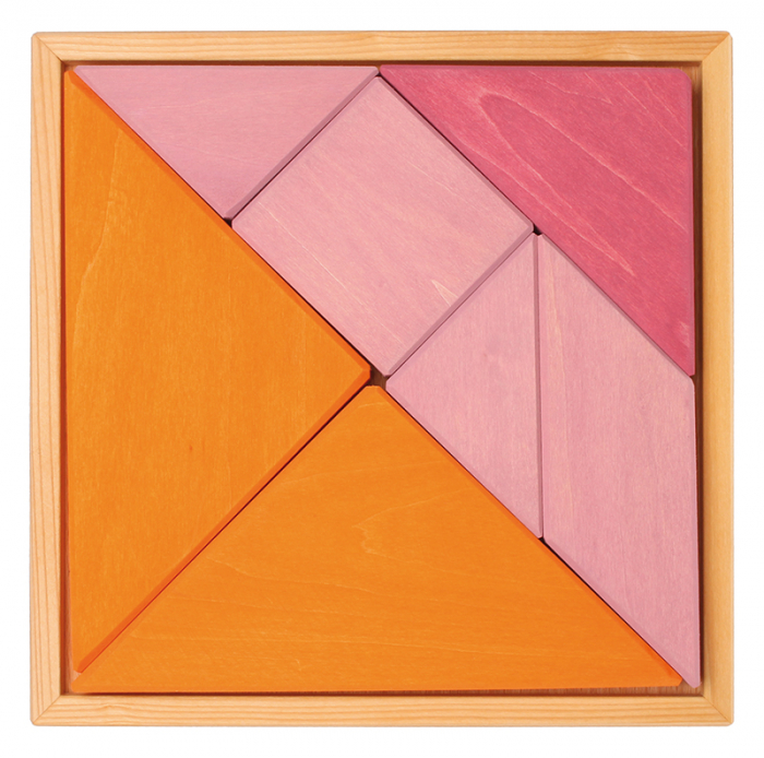 Tangram puzzle roz 0