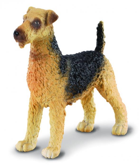 Terrierul Airedale - Animal figurina 0