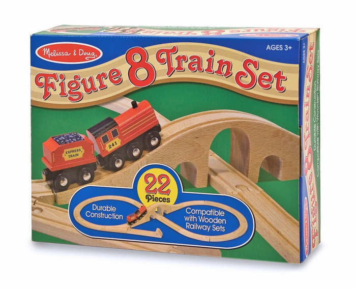 Tren lemn si Circuit 8 [1]