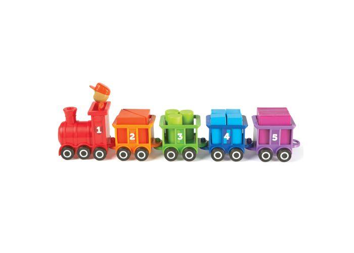 Trenuletul cu numere si culori Choo-Choo 2