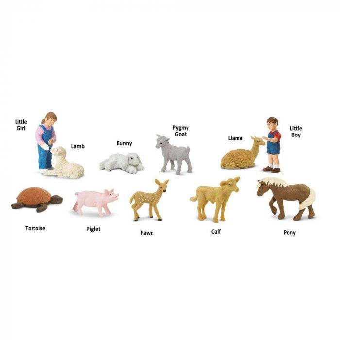 Tub animale prietenoase de la ZOO - Safari Toob 0