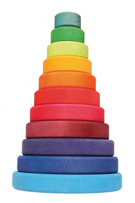 Turn colorat 11 piese 0