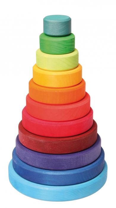 Turn colorat 11 piese 1