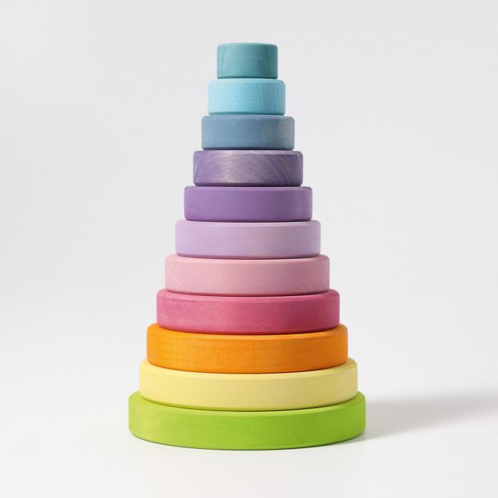 Turn colorat pastel 11 piese 1
