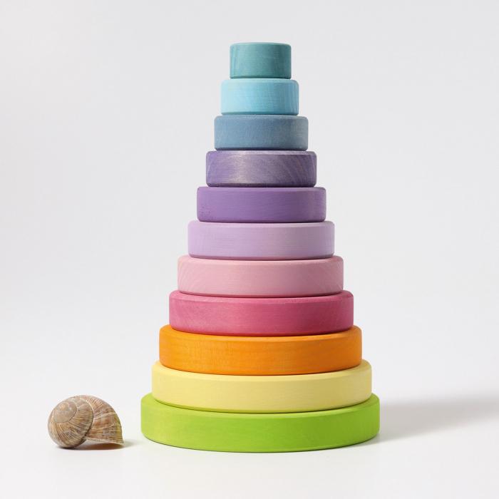 Turn colorat pastel 11 piese 0