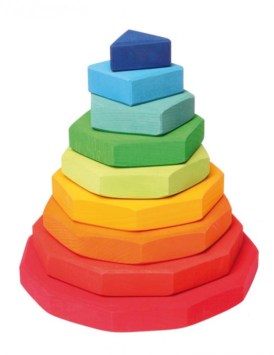 Turn de stivuit cu forme geometrice [0]