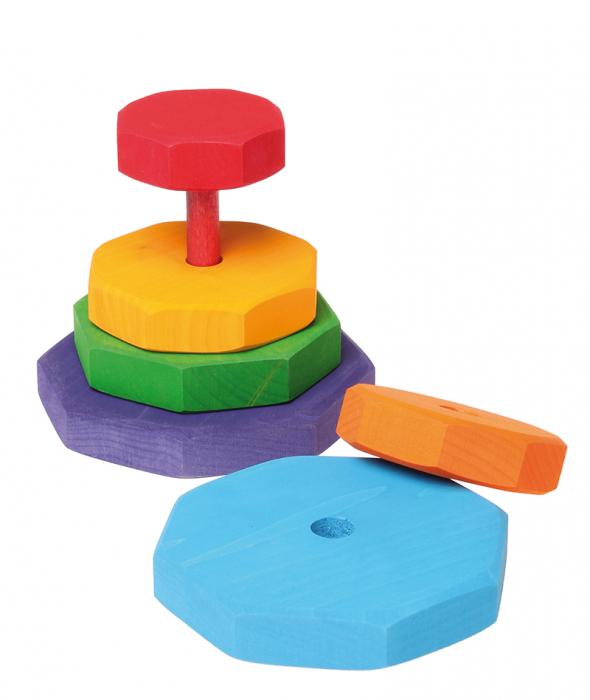 Turn mic de stivuit cu forme geometrice 2