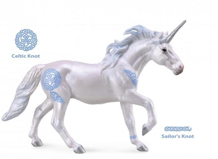 Unicorn armasar - Animal figurina 0