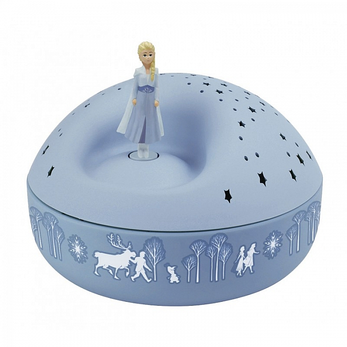 Veioza proiector stelute, Elsa - Frozen 2 0