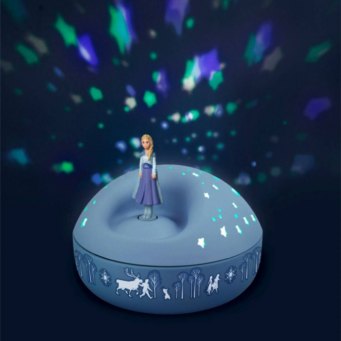 Veioza proiector stelute, Elsa - Frozen 2 1