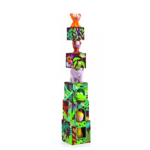 Maxi Topanijungle - Joc cu cuburi si figurine 1
