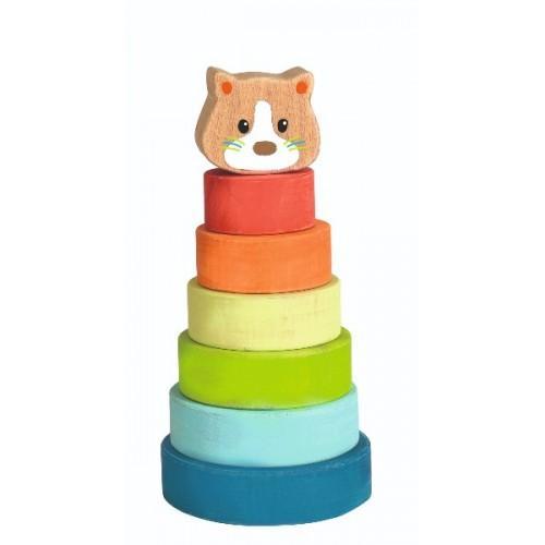 Piramida tip Montessori - Pisica 0