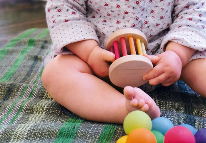 Zornaitoare rotita pentru bebelusi 3