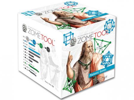 Set stiintific de constructie Zometool - Corpurile platonice0