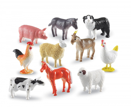 Set 60 Figurine - Animale de la ferma - Learning Resources1