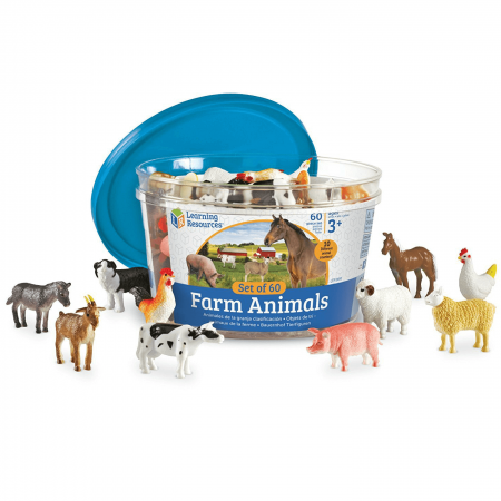 Set 60 Figurine - Animale de la ferma - Learning Resources0
