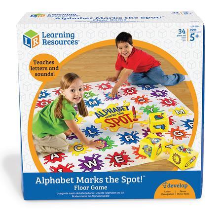 Saltea de activitati - Alphabet Marks the Spot - Gradinita sau acasa3