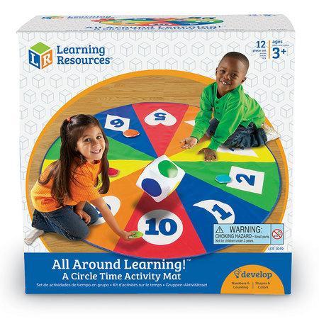 Saltea activitati - Circle time - Cifre forme si culori3