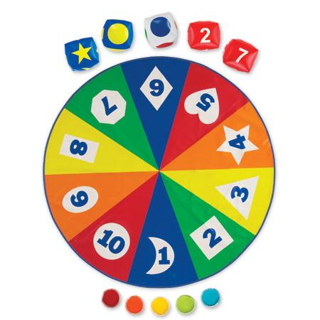 Saltea activitati - Circle time - Cifre forme si culori1