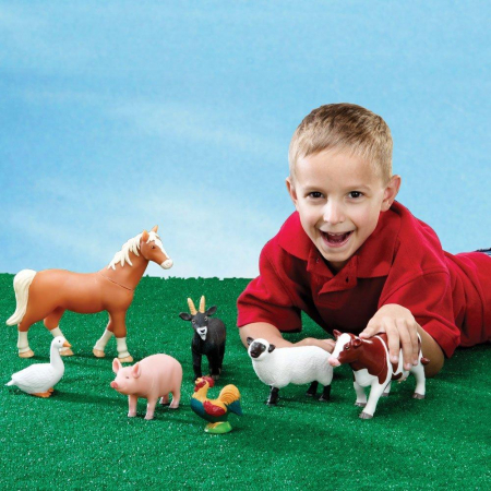 Animalele de la ferma - Set figurine mari +2 ani1