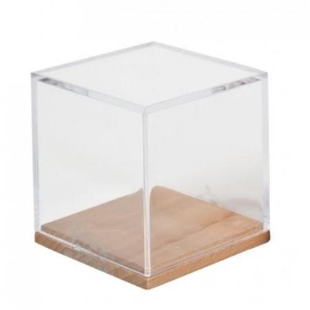 Joc logic IQ - Cub din lemn