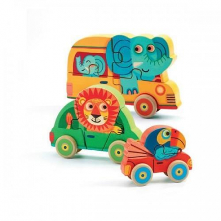 Figurine Puzzle Pachy&Co0