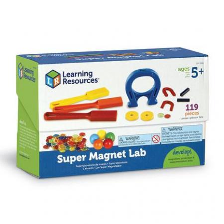 Superlaboratorul cu magneti - set educativ