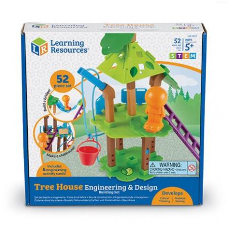 Inginerie si design casuta din copac - Set constructie STEM1
