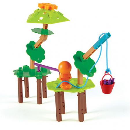 Inginerie si design casuta din copac - Set constructie STEM0
