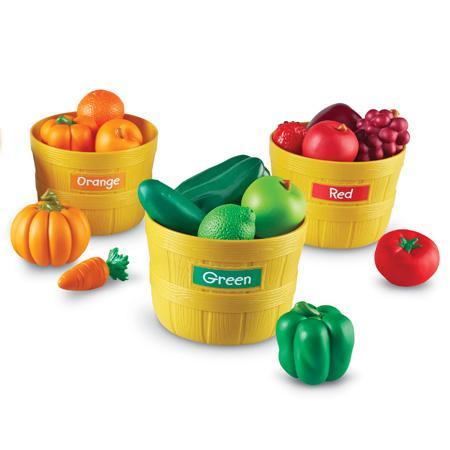 Farmer's Market - Fructele Fermierului - Set sortare culori0