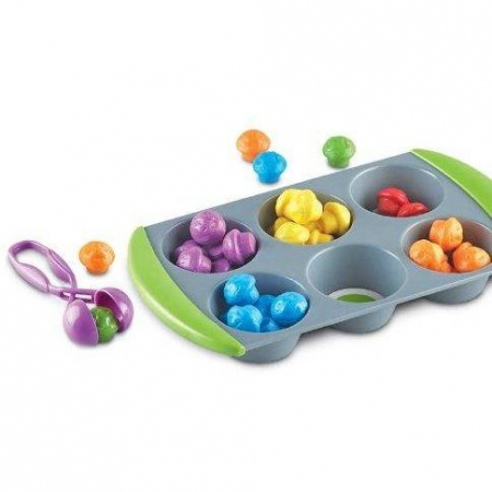 Mini Muffin - Set sortare culori1