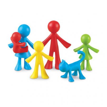 Set 24 de figurine - Familia mea0