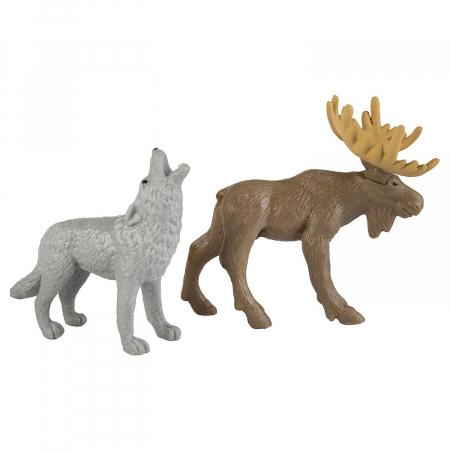 Animale din natura - Safari Toob - Set 12 figurine