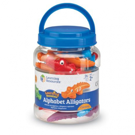 Aligatorii pereche - Set alfabet si culori1