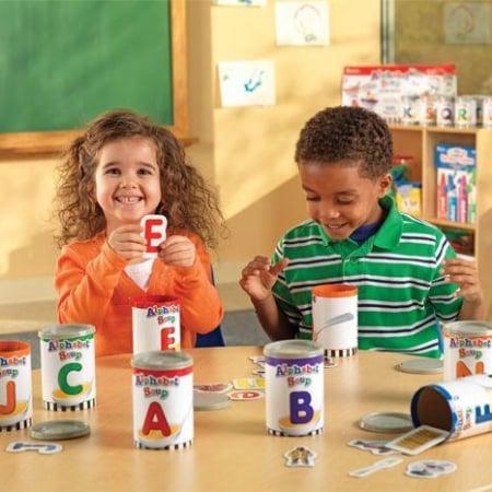 Supa de alfabet - Set educativ