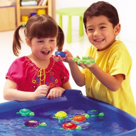 Broscutele testoase - Set educativ - Jucarie de baie